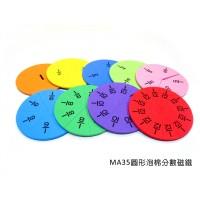 MA35圓形泡棉分數磁鐵